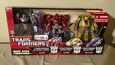 Transformers Rage Over Cybertron Optimus Prime Bumblebee Megatron TRU MISB