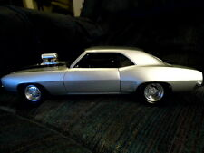 Ultra Ultra Rare GMP 1:18 1969 CAMARO DRAG CAR METALLIC SILVER 152 of 1000!
