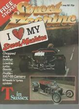 STREET MACHINE MAGAZINE  MAY 1982 VOL.4 NO.1  LOWLINE TURBO BEETLE  LS
