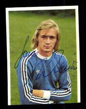 Hans Weiner Hertha BSC Berlin Bergmann Sammelbild 1974-75 Orig Sign+ A 113094