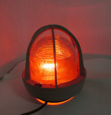 Vintage Crouse Hinds Industrial light Explosion Proof Cage and Globe Steampunk