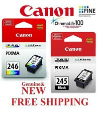 2-PACK Black/Color Ink Cartridges for Canon MG2520 MG2922 Printer *GENUINE*