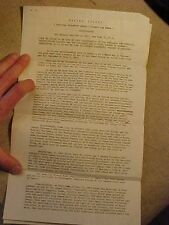 ORIGINAL WWII AVG FLYING TIGERS LETTER ABOUT VETERAN STATUS