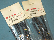 """TWO-Black FAST FLITE Strings 62-1/2""""AMO-16 Strands--Compound Bow Hunting/Target"""