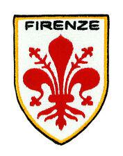 Parche bandera Florencia ITALIA  emblema escudo de armas PATCH italiano bordado