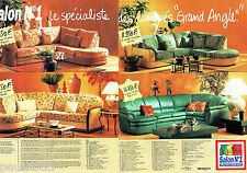 PUBLICITE ADVERTISING 096  1995  Salon n°1  (2p)  le spécialiste fauteuil canapé