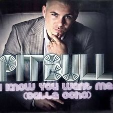 I KNOW YOU WANT ME (Calle Ocho) - PITBULL - CD Brand New Sealed Free Shipping