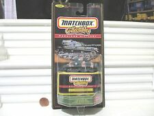 1998 Matchbox Premiere Military Collection Sherman Tank New in Bubble Package