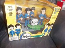 THE BEATLES McFARLANE DELUXE BOXED SET TOY MODEL FIGURES BAND AND CROCODILE !