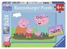 Puzzle Ravensburger 24 Teile - 2 Puzzles - Peppa Pig Glückliches ... (46718)