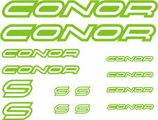 KIT- PEGATINA - STICKERS - VINILO - LAMINA - PACK -BICICLETA-BIKE- CONOR STICKER