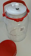 5 litre.  Food fermentation jar. With Sterilock antibacterial airlock.