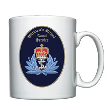 WRNS - Offficer Cap Badge - Personalised Mug