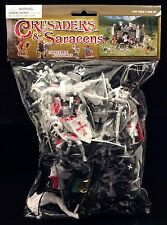 BMC 34 Crusader Knights Bagged Toy Soldier Playset