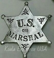 Western  Badges Old West Replica US Marshal