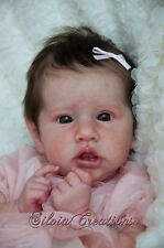 New! *Saskia* Reborn doll kit by Bonnie Brown ~w/  Belly Plate & COA