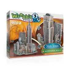 NEW YORK CITY COLLECTION WREBBIT 3D MIDTOWN WEST puzz puzzle jigsaw NEW crushed