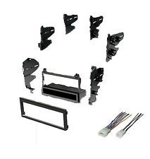 1984-2004 Toyota Single Din Dash Kit for Radio Stereo Install & Wire Harness
