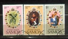 Samoa Island 1981 Royal welding Complete Set