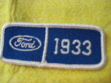 """Vintage 1933 Ford Patch 3 1/2"""" X 1 1/2"""""""