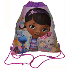 12pc DISNEY DOC MCSTUFFINS KIDS Sling Bag Tote Backpack BIRTHDAY PARTY FAVORS