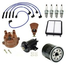 Toyota Pickup 89-92 L4 2.4 Ignition Tune Up Cap Rotor Filters Wire Kit