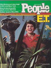 JUNE 28 1982 PEOPLE magazine (UNREAD - NO LABEL) - E.T. MOVIE