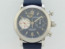 Graham Chronograph Rattrapante and Foudroyante Automatic Steel 179