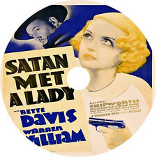 Satan Met A Lady DVD Bette Davis Warren William 1936 rare