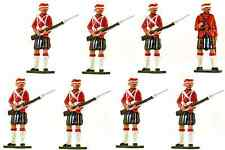 Bastion Models - Cameron Highlanders - # A23 - gloss paint metal 1/32nd scale