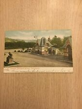 1906 Philadelphia Zoo Post Card zoological Gardens  Spring Lake New York