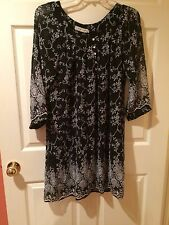 Roper Dress Size Large New NWT Black Cow Girl Style 3-57-590-7040BL Lined