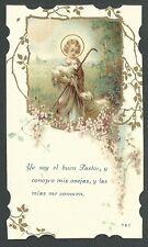 Estampa antigua Niño Jesus andachtsbild santino holy card santini
