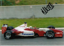 Allan McNish Hand Signed Panasonic Toyota Photo 7x5.