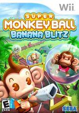 Super Monkey Ball: Banana Blitz Wii Game