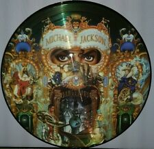 MICHAEL JACKSON -  DANGEROUS, 180 GRAM PICTURE DISC VINYL LP RECORD NEW IMPORT