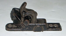 Antique Cast Iron Thumb / Swivel / Cylinder Latch