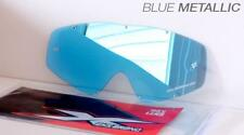 EKS Brand BLUE MIRROR Single Pane GOX Replacement Goggle Lens 067-40225