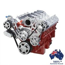 GM HOLDEN CHEVY LS1,2,3 & 6 ENGINE SERPENTINE KIT - AC AIR, ALT & POWER STEERING