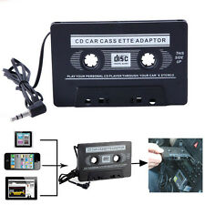 Adapter MP3 MP4 CD iPod iPhone Car Audio Cassette Casette Tape AUX Audio 3.5mm