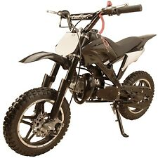 Performance 49cc 2-Stroke GAS Power Mini Pocket Dirt Bike Free Shipping - Black