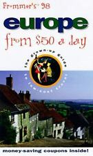 Frommer's Europe from $50 a Day '98 by Hults, Barbara Coeyman, Jones, Richard,