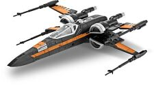 Revell Star Wars Poe's X-Wing Fighter Plastic Model Build & Play Kit RMX851635