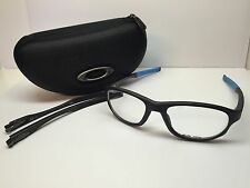 Oakley Crosslink Satin Black Frames Rx Eyeglasses OX8048-0154 W/Case 54/18/143