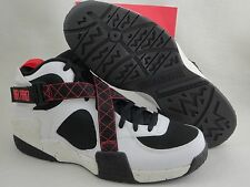 Nike Air Raid, White / Black / University Red, Size 7.5