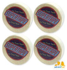 """TRUE TAPE SuperTape Super Roll 1/2"""" x 3 yards, lace wig hairpiece - 4 rolls"""