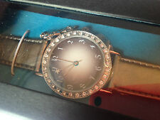 Fairy dust by Paris hilton ladies watch SILVER sparkly diamante crystal fab gift