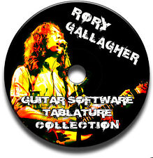 Rory Gallagher blues rock guitar schede tablature SONG BOOK CD del software migliori