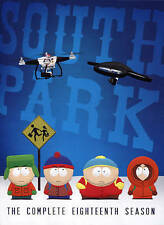 South Park The Complete Eighteenth Season Dvd 2-Disc Set New Sealed