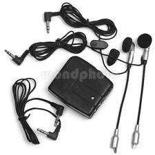 Negro Intercomunicador de Motocicleta Moto para iPod MP3 150 mW de Buena Venta